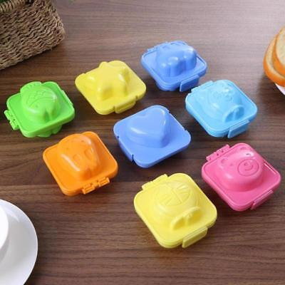 Plastic Mold Boiled Cutter Cartoon Eggs Cooker Kids Food Maker Decorating Mould