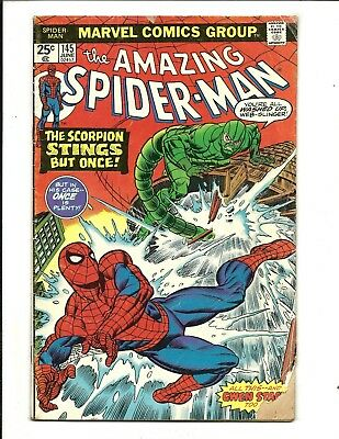 Amazing Spider-Man # 145 (Gwen Stacey Clone Story, June 1975), Vg-