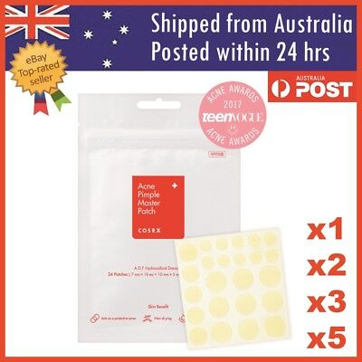COSRX Acne Pimple Master Patch Set of 24 Patches Clear Fit Blemish Control