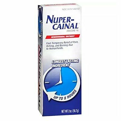 NuperCainal Hemorrhoidal Ointment Pain Relief 2 Oz