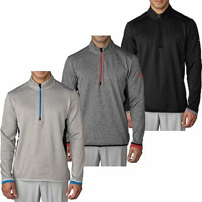 adidas CLIMAHEAT SOFT FLEECE INSULATION PERFORMANCE MENS GOLF PULLOVER SWEATER