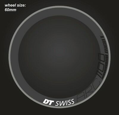 DT SWISS ARC 1100 RIM DECAL SETS for two wheels 60