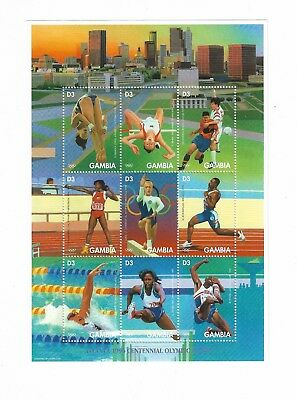 "Gambia ""Olympic Games - Atlanta, USA - Previous Gold Medal Winners 1996"""