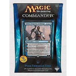 "Magic Commander 2014 Bleu / Blue ""Regard dans le temps"" VF Français"