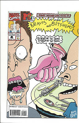 Bevis and Butthead #1,2,3,4 very nice condition, bagged and boarded when new.