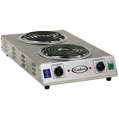 "Countertop Electric Range - (2) 8"" Burners, 3000 Watts"