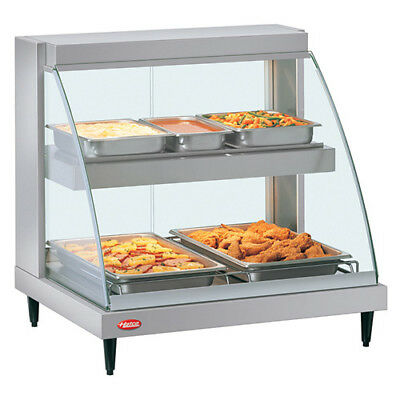 """Hatco GRCDH-2PD - Humidity Controlled Hot Food Display Case, 32-1/2""""W"""