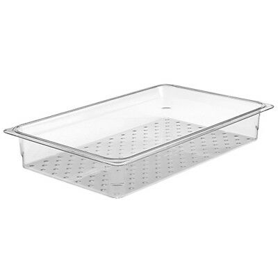 "Cold Food Pan Colander 6""H, Third-Size Camwear Cold Food Pans"