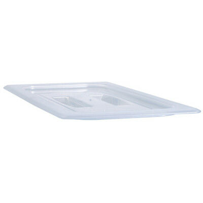 Sixth Size Translucent Food Pan Cover with Handle