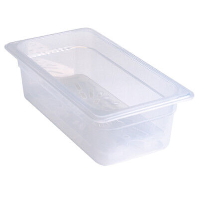 "Half Size Translucent Food Pan, 6""H"