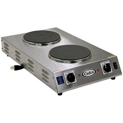 "Countertop Electric Range - (2) 7-1/2"" Burners, 1800 Watts"