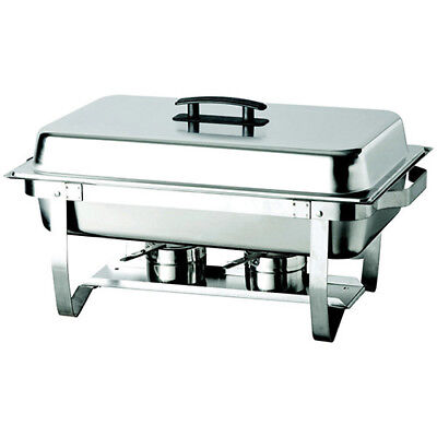 Chafer with Folding Stand - 8 Qt. Capacity