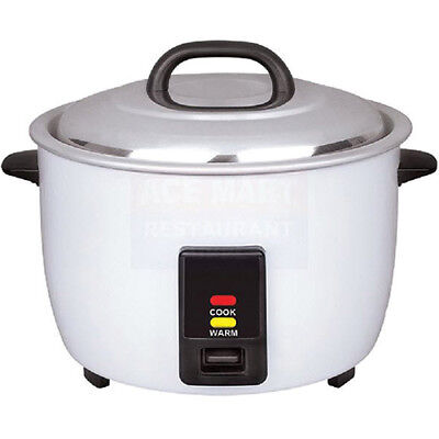 Rice Cooker - 23 Cup, White Painted Body