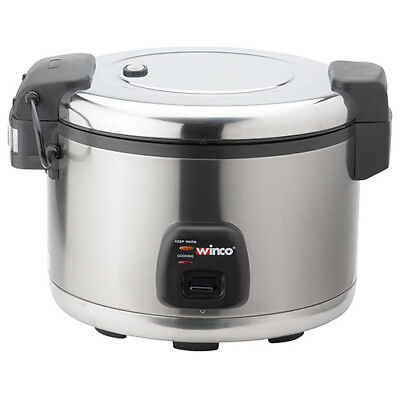 Rice Cooker - 60 Cup, Stainless Steel
