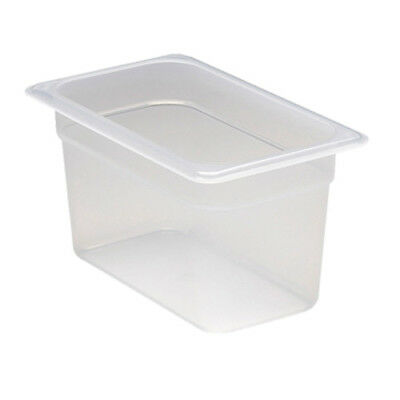 "Fourth Size Translucent Food Pan, 6""H"