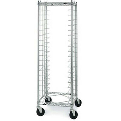 "Wire Bun Pan Cart End Loading, 3"" Slide Spacing"