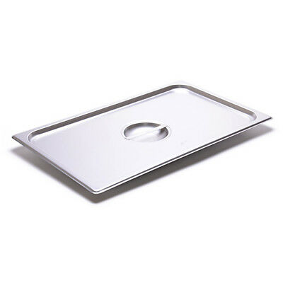 Full-Size Steam Table Solid Cover For 24 Gauge Stainless Steel Steam Table Pans