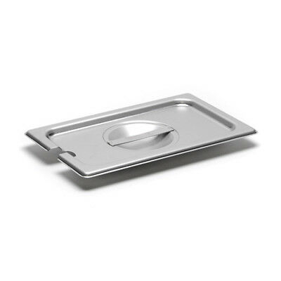 Slotted Cover for 22 Gauge Fourth-Size Steam Table Pans