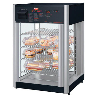 Hot Food Display Cabinet - Humidified 4-Tier Stationary Pizza Rack