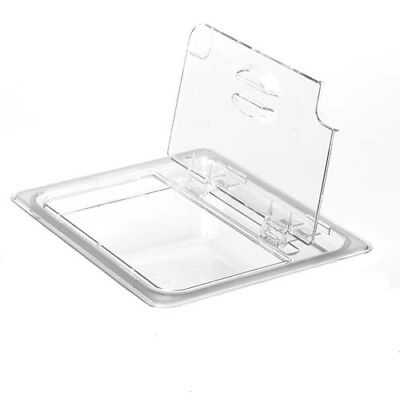 Cold Food Pan Notched FlipLid Third-Size Camwear Pans