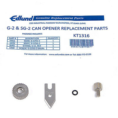 Edlund KT1316 Replacement Parts Kit for Can Opener 745-095 and 745-096
