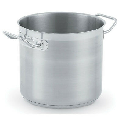 Stock Pot with Cover - Optio Stainless Steel 27 Qt.