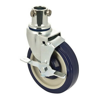 """5"""" Swivel Casters for Central Exclusive Heavy and Medium Duty Shelving"""