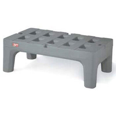 """Poly BowTie Dunnage Rack with Microban, 48""""D, 3000 lbs. Capacity"""