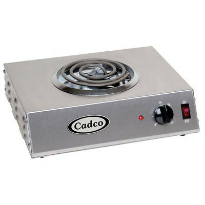 "Countertop Electric Range - (1) 8"" Burner, 1500 Watts"