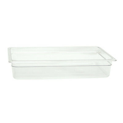 "Full-Size 4""D - Polycarbonate Food Pan"