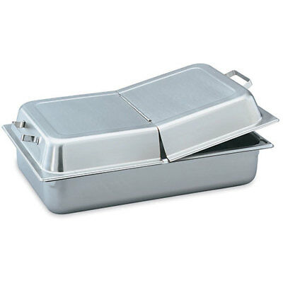 Full-Size Steam Table Pan Cover, Hinged Dome