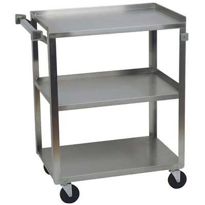 "Stainless Steel Utility Cart 300 lbs. Capacity, 16-1/4""Wx27-1/2""Dx32-1/8""H"