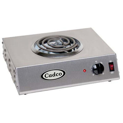 "Countertop Electric Range - (1) 6"" Burner, 1100 Watts"