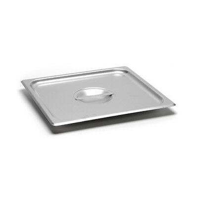 Solid Cover for 22 Gauge Two-Thirds-Size Steam Table Pans