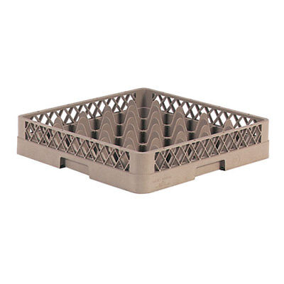 """Glass Rack - 16 Square Compartments, 5-9/16""""H (with extenders)"""
