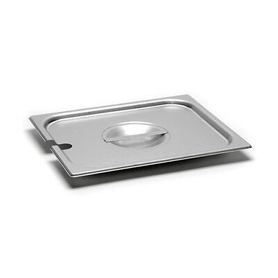 Slotted Cover for 22 Gauge Half-Size Steam Table Pans
