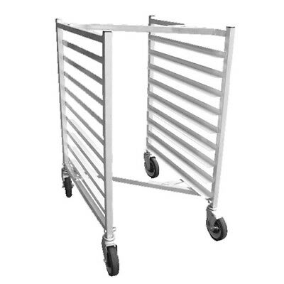 "Half Size Nested Aluminum Bun Pan Rack with ""Z"" Frame"
