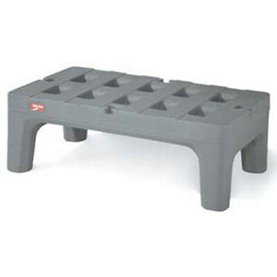 """Poly BowTie Dunnage Rack with Microban, 30""""D, 1500 lbs. Capacity"""