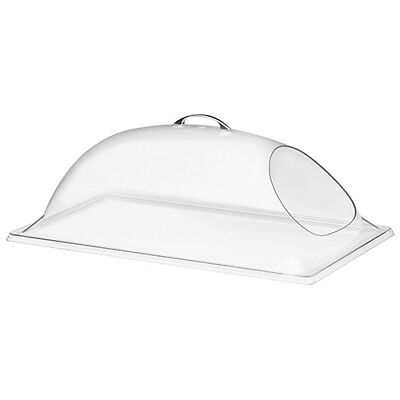 """Dome Food Cover - Deluxe, 1 End Cut Out, 18""""Wx26""""D"""