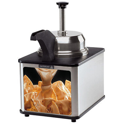 Self Service Hot Fudge/Cheese/Caramel Warmer, 3 Qt. Capacity