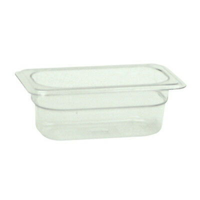 "Ninth-Size 2-1/2""D - Polycarbonate Food Pan"