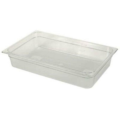 Cold Food Pan Half-Size Long, 3-5/8 Quart