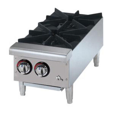 Gas Hot Plate Flat Top, 2 Burners
