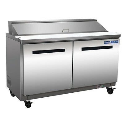 Sandwich/Salad Prep Table - Mega-Top Unit, 18 Pan Capacity