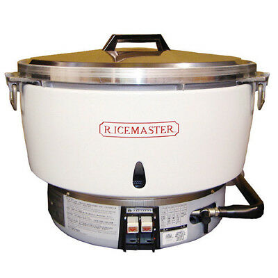 Commercial Rice Cooker/Warmer - Gas 55 Cup Capacity
