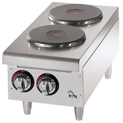 Commercial Electric Hot Plate - Solid Burner