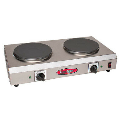 "Value Series CDR-2CEN Electric Countertop Range - Two 7"" Burners"