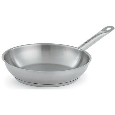 "Fry Pan - Optio Stainless Steel Plain Finish 12-1/2""Diam."