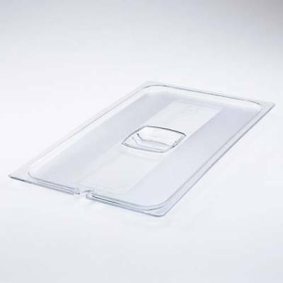 Cold Food Pan Solid Hard Cover Fourth-Size