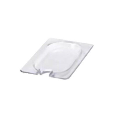 Cold Food Pan - Notched Hard Cover, Full-Size